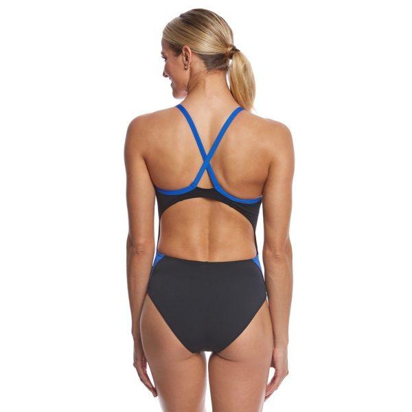 MP Women's Mid Back Splice Swimsuit FINAL SALE