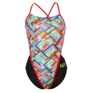 MP Women's Subway Racerback One Piece Swimsuit FINAL SALE