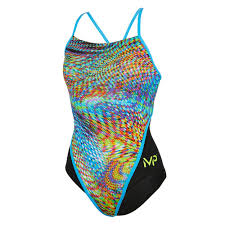 MP Women's Snake Racerback One Piece Swimsuit FINAL SALE