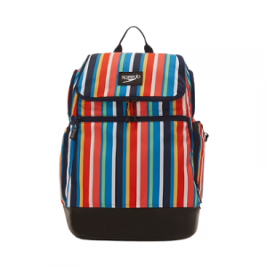Speedo Striped Teamster 2.0 Swim Backpack