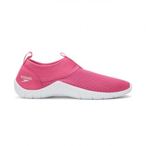Speedo Kid's Pink/White Tidal Cruiser Surfwalker 3.0 Water Shoes