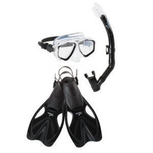 Speedo Adult Adventure Mask/Snorkel/Fin Set