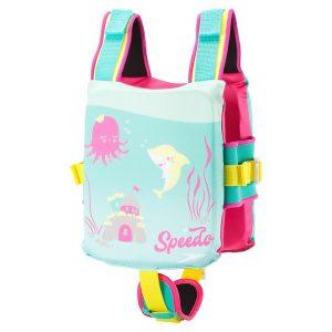 Speedo Kid's Begin to Swim Printed Ocean Princess Float Coach