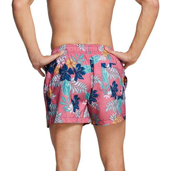 "Speedo Men's Hawaiian Floral Redondo Volley 14"" Shorts Swimsuit"
