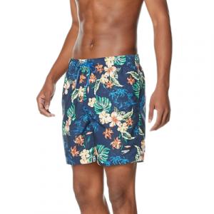 "Speedo Men's Island Vision Redondo Edge Volley 18"" Shorts Swimsuit"