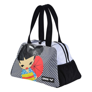 Arena Fast Shoulder Bag Allover Kokeshi Print