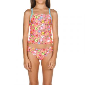 Arena Girl's Fantasy Jr. Tankini Two Piece Swimsuit
