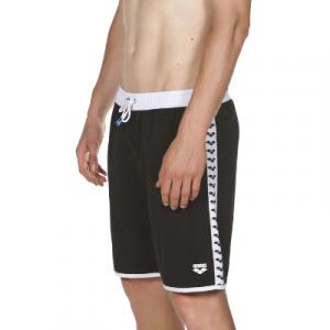 Arena Men's Team Stripe Bermuda Swim Shorts