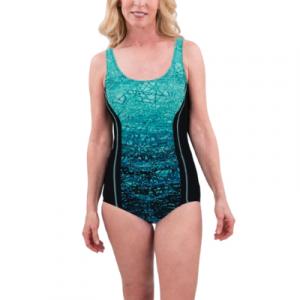 TYR Women's Arctic Aqua Tank One Piece Swimsuit