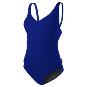 TYR Women's Solid V-Neck One Piece Swimsuit