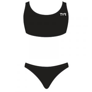 TYR Women's Solid Workout Maxfit Two Piece Bikini Set