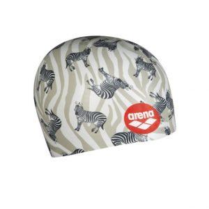 Arena Poolish Moulded Zebra Swim Cap