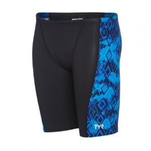 TYR Men's Glacial Hero Splice Jammer Swimsuit