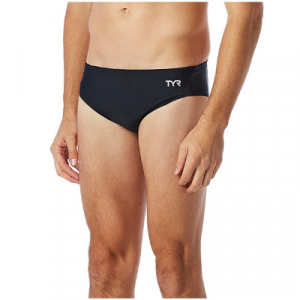TYR Men's Solid Brief Swimsuit