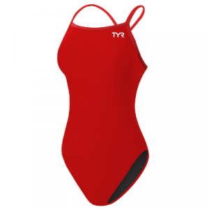 TYR Women's Solid Microfit One Piece Swimsuit