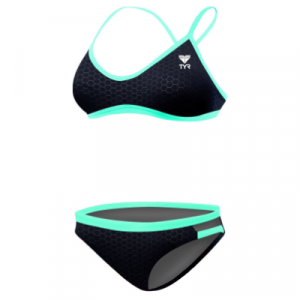 TYR Women's Hexa Trinity Two Piece Bikini Swimsuit