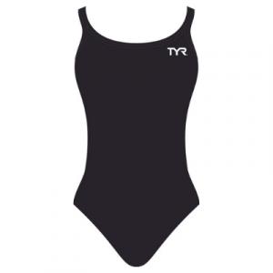 TYR Women's Solid Dimaxfit One Piece Swimsuit