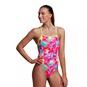 Funkita Women's Brush Baby Strapped in One Piece Swimsuit