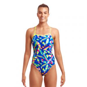 Funkita Women's Board Bash Single Strap One Piece Swimsuit