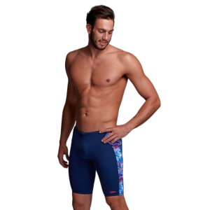 Funky Trunks Men's Cray Crayon Jammer Swimsuit