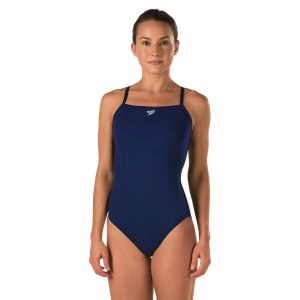Speedo Women's Endurance + Flyback Closed Back w/Hydrobra One Piece Swimsuit