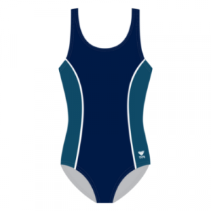 TYR Women's Aqua Tank Solid Paneled and Piping One Piece Swimsuit