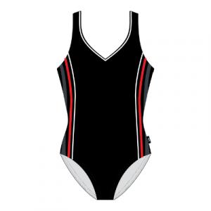 TYR Women's V-Neck Clip Back One Piece Swimsuit