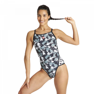 Arena Women's Crazy Camo Cats Superfly One Piece Swimsuit