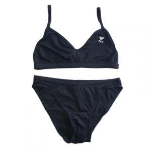 TYR Women's Solid Two Piece Microfit Bikini Swimsuit